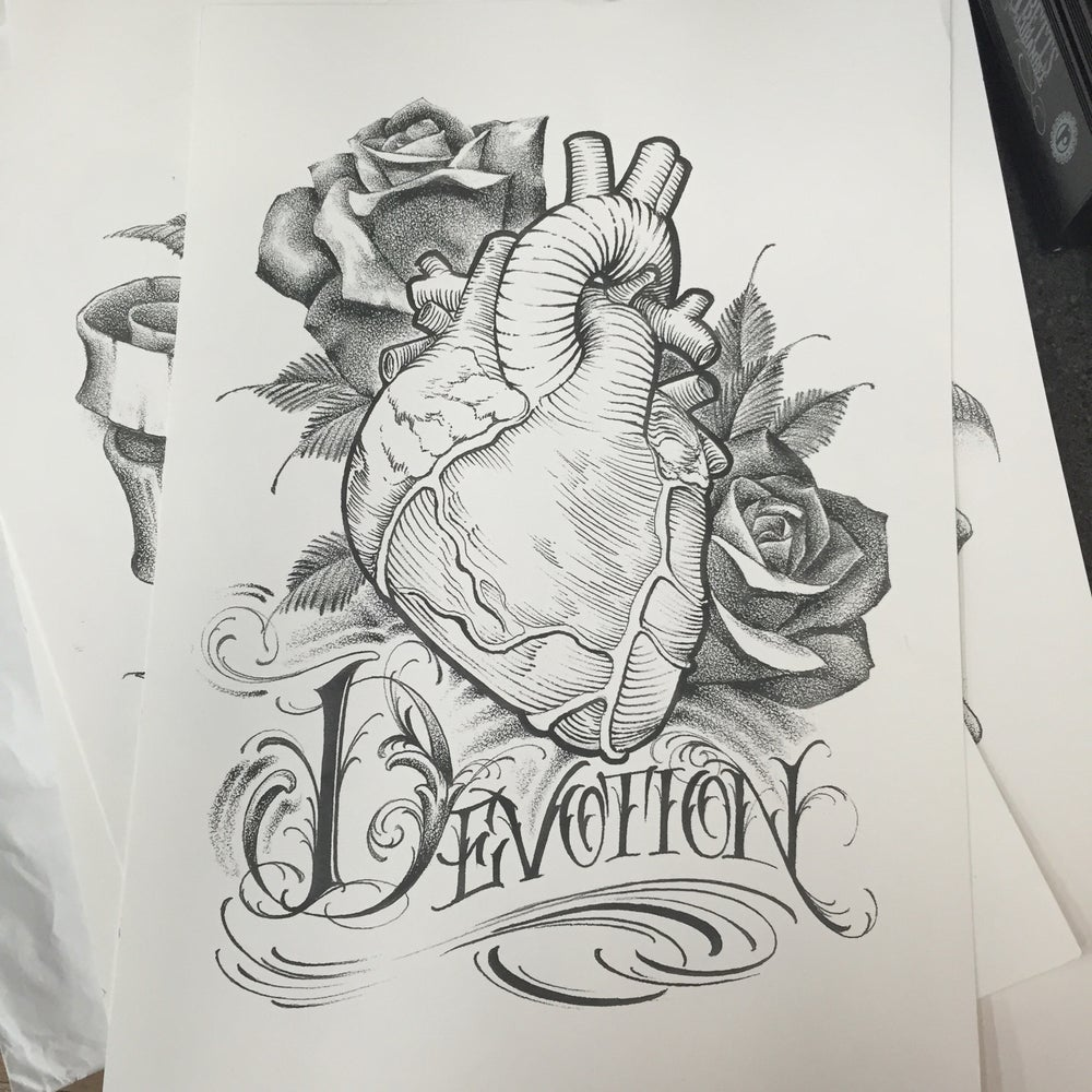 "Image of ""Devotion"" print"