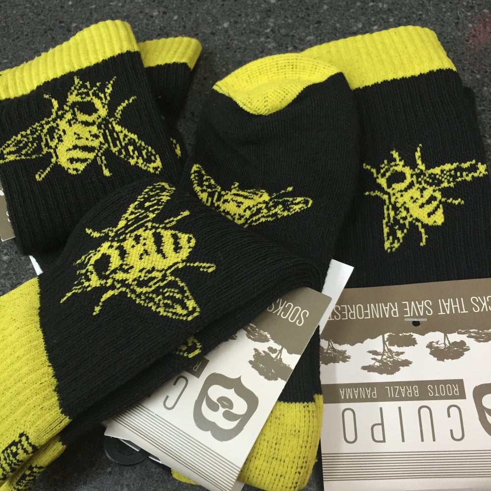 "Image of ""Bee"" socks"