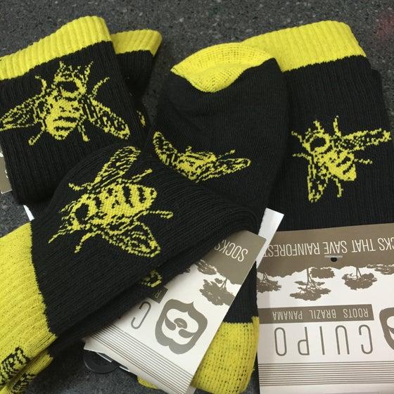 "Image of ""Bee"" socks"