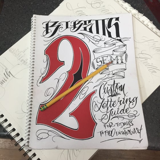 Image of Lettering Guide number 2