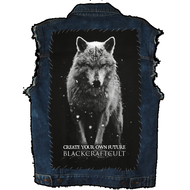 Image of Lone Wolf - Back Patch