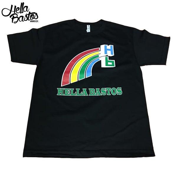 Image of UH Rainbow Tee (Black)