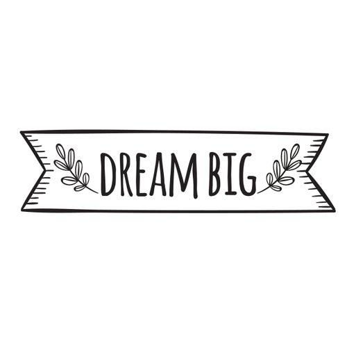 Image of Vinilo Dream big negro