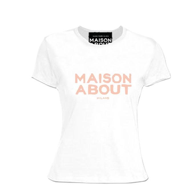 Image of T-shirt Reglar| Logo Pink