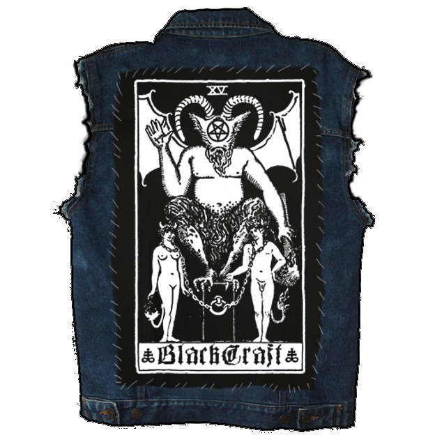 Image of Tarot - Back Patch