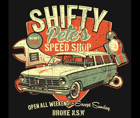 Image of Shifty Pete's Ladies T-Shirt