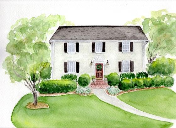 Image of Custom House Illustrations