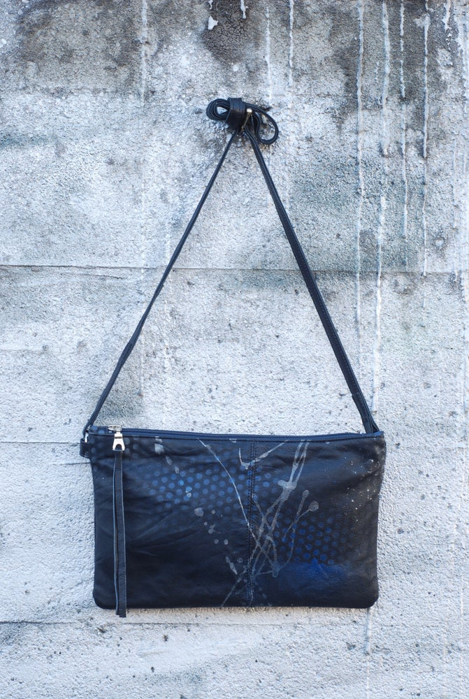 Image of Chelsea Crossbody - dot/splatter