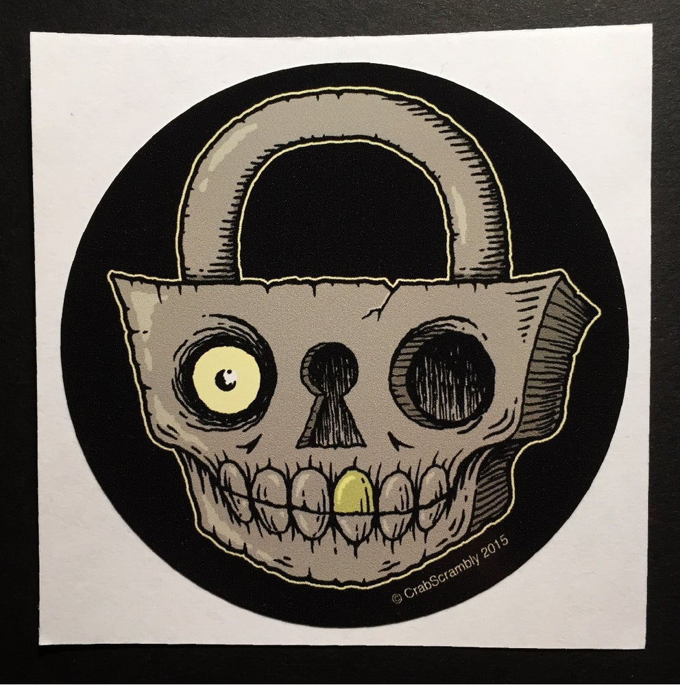 Image of SKULLOCK STICKER