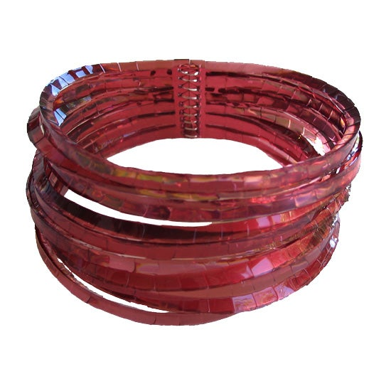 Image of waterhole cuff - burgundy