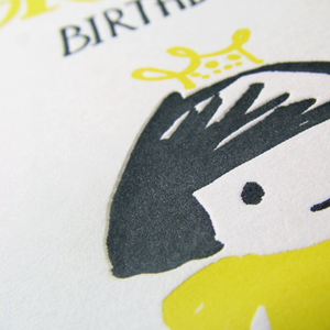 Image of Have a Grand Birthday - letterpress birthday card