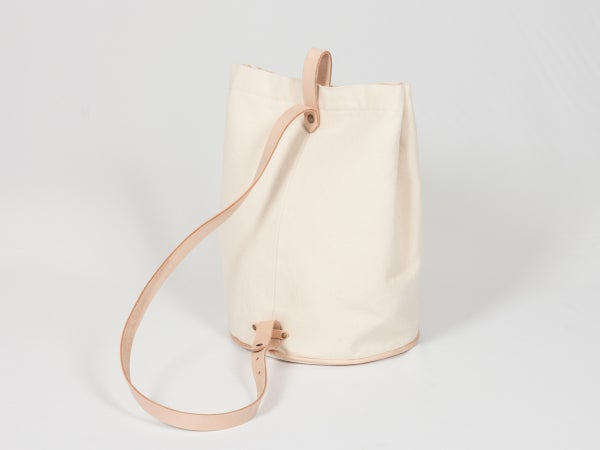 Bucket Bag - canvas - arminho