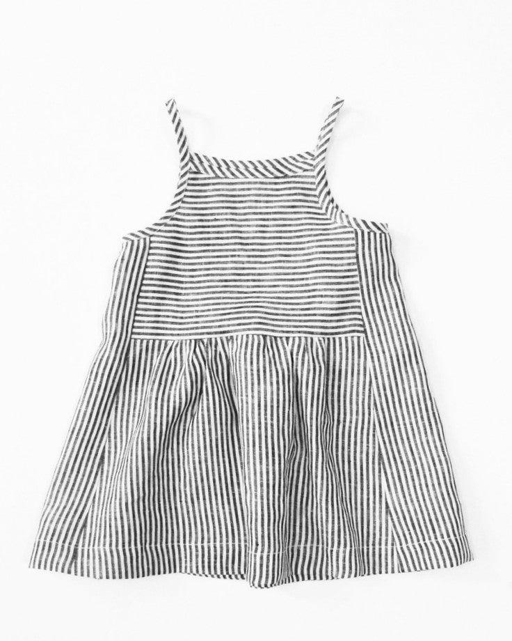 Image of park dress- ticker stripe