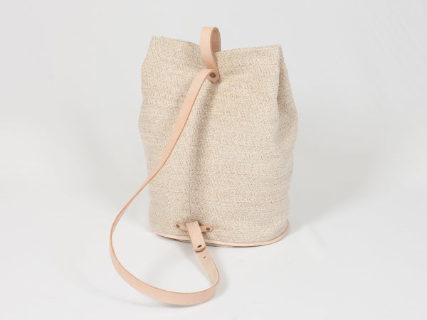 Bucket Bag Beige - beige pattern - arminho