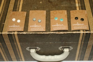 Image of Maboue~ Little Porcelain Studs