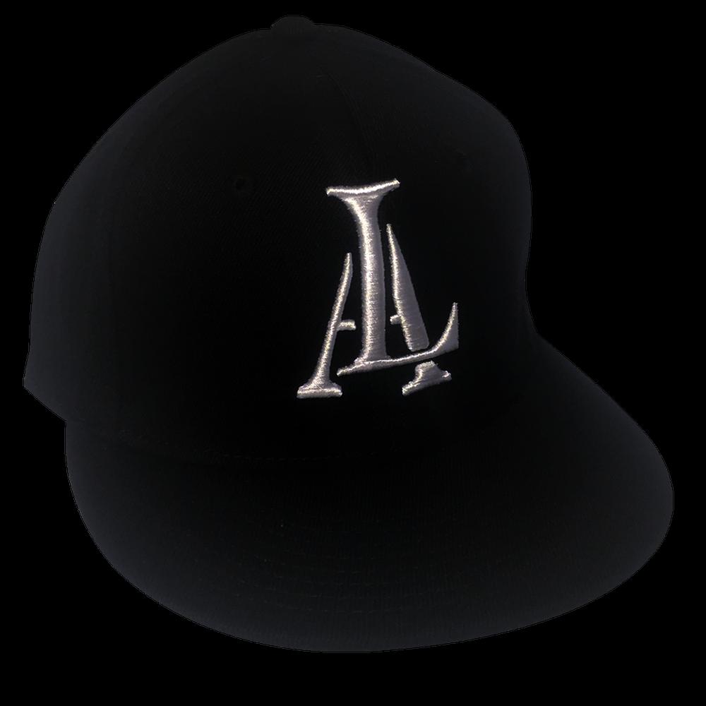Image of Legendary American LA logo 3d flexfit hat