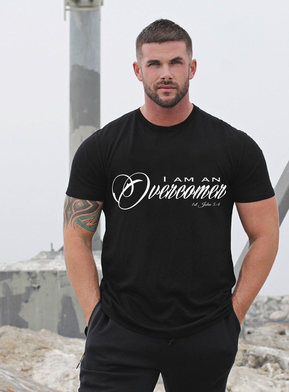 Image of Unisex Overcomer T Shirt