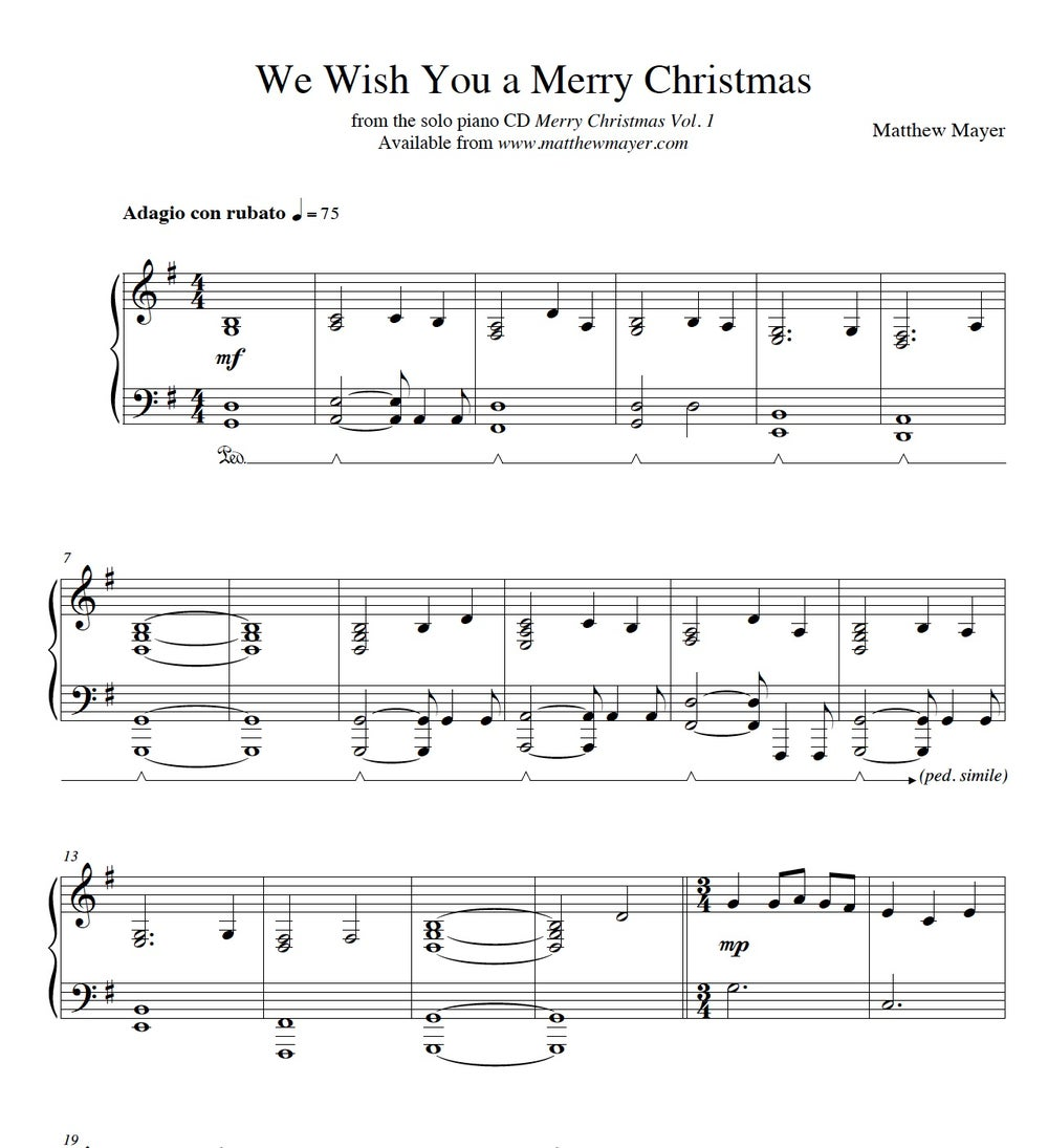 Image of New - We Wish You a Merry Christmas