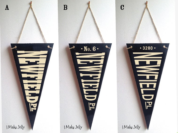 Image of Wooden Flags - Made to Order