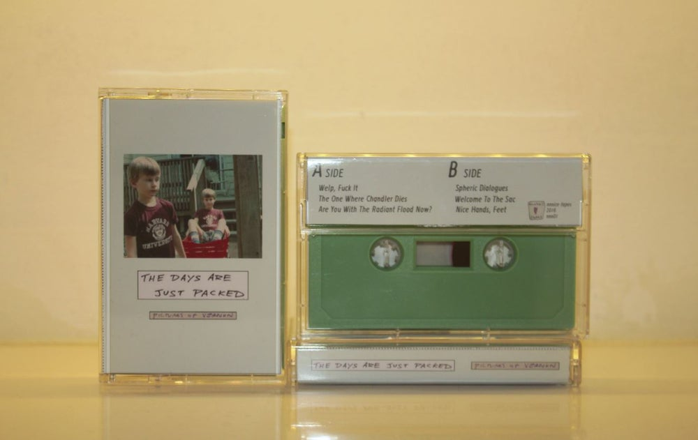 Image of Pictures Of Vernon - The Days Are Just Packed Tape
