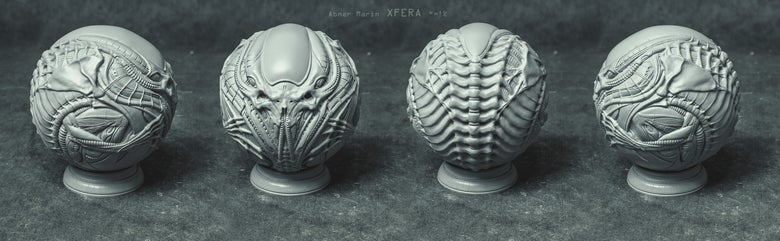"Image of Xfera 4"" resin kit"