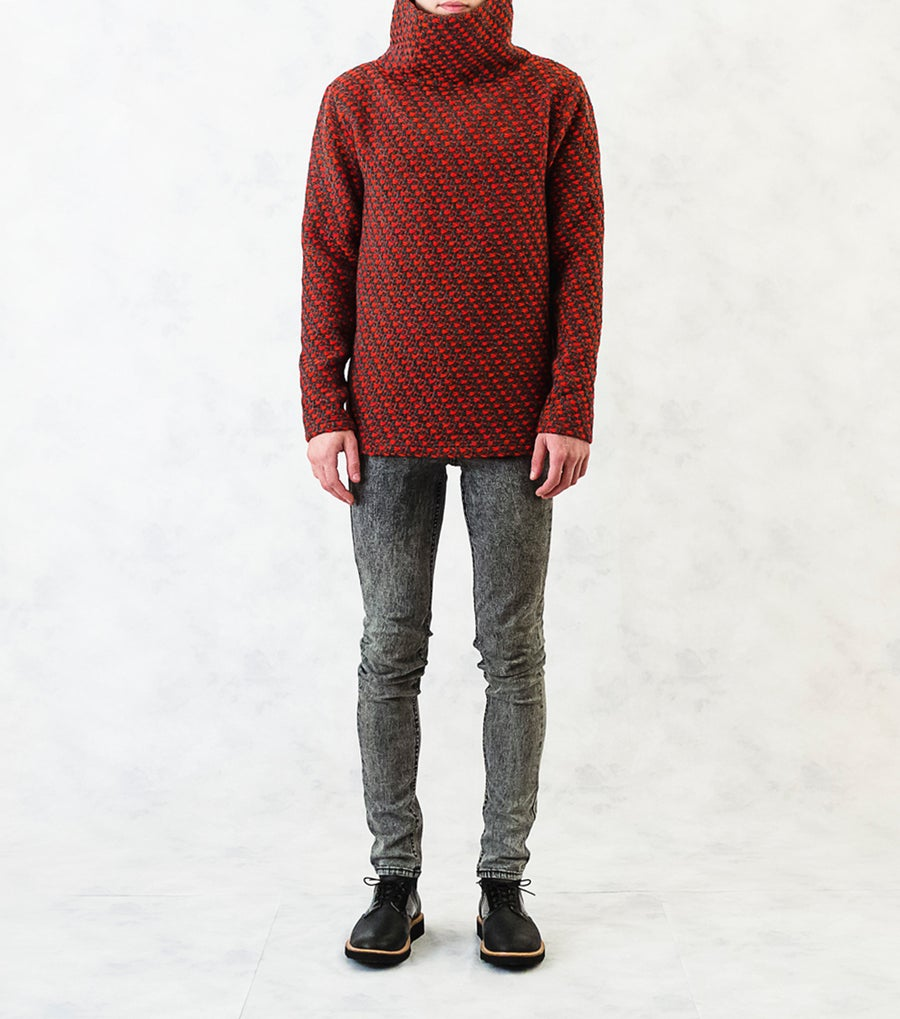 Image of Heavy-Knit Wool-Blend Jumper