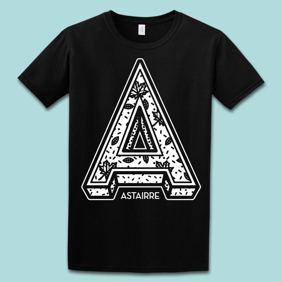 "Image of Shirt ""A"" schwarz"