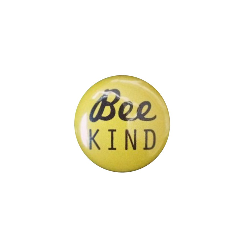 "Image of ""Bee Kind"" pin badge (free with every T-shirt)"