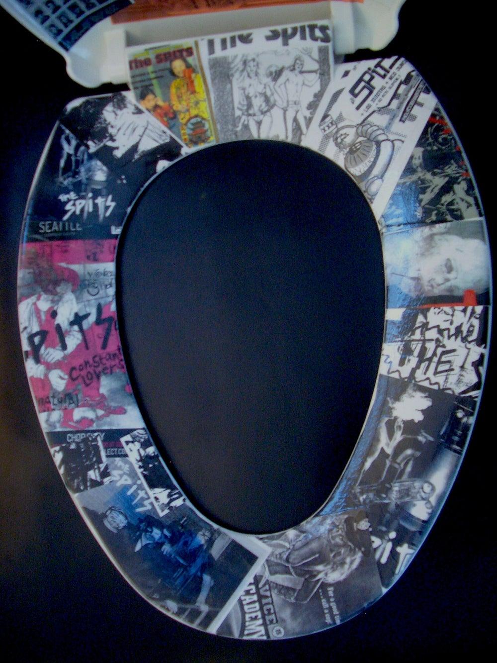 Image of Decoupage Toilet Seat II