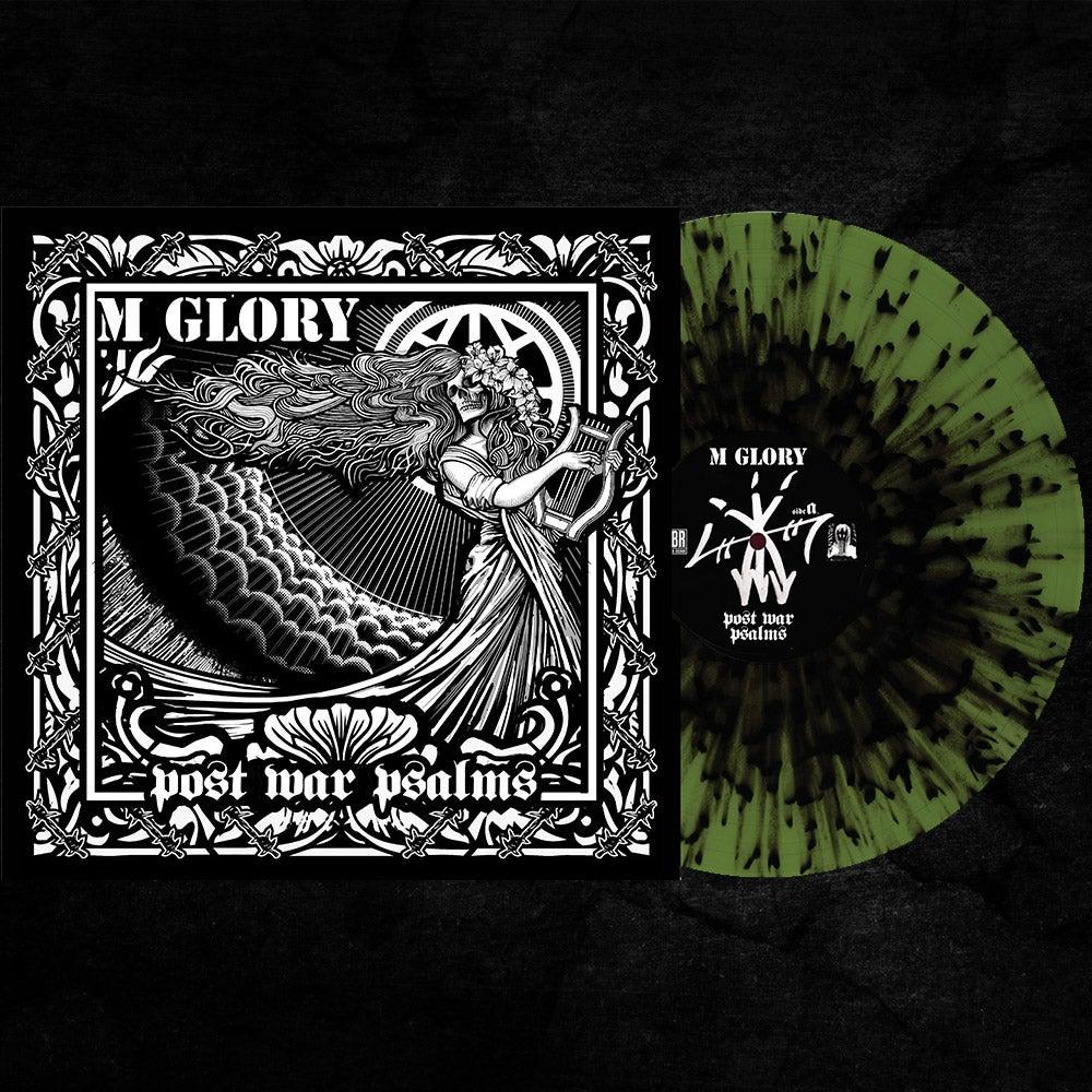 """Image of Morning Glory 'Post War Psalms' 10"""" Vinyl EP - GREEN W/BLACK SPLATTER"""
