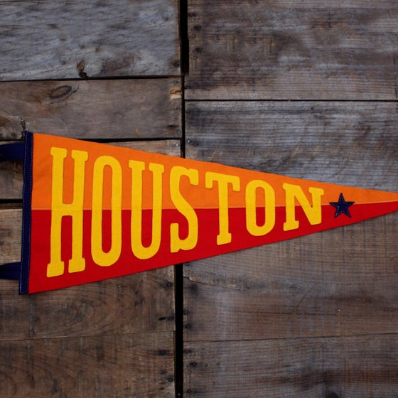 Image of Houston Pennant