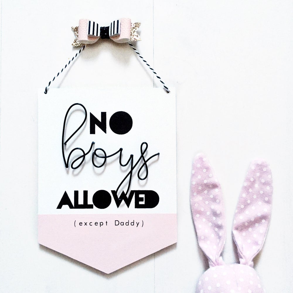 Image of No Boys Allowed