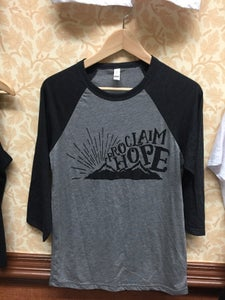 Image of Proclaim Hope baseball tee