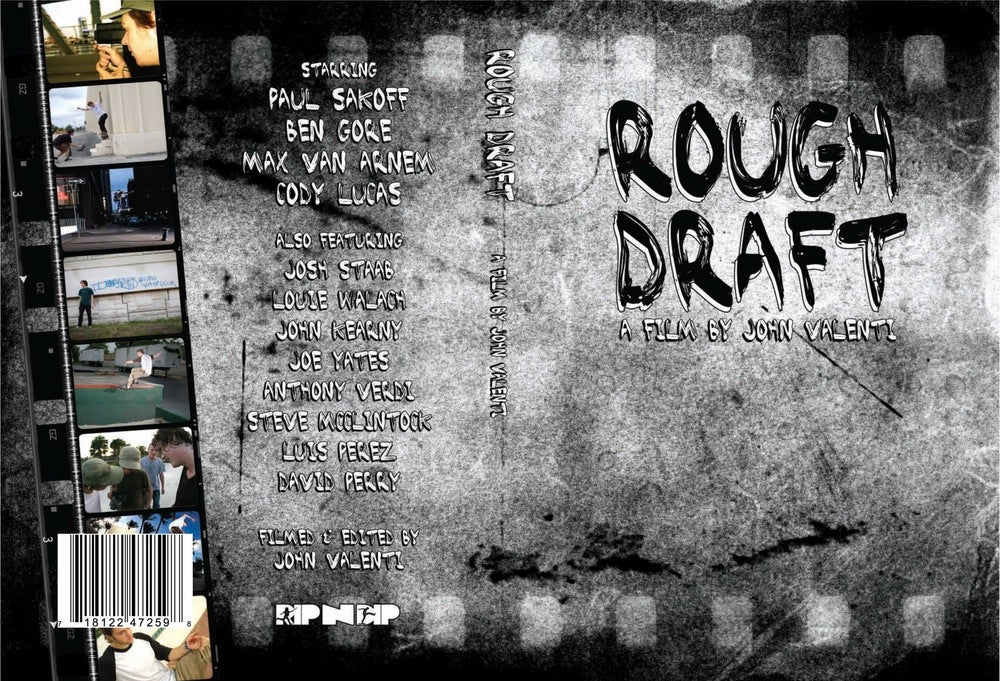 Image of Rough Draft - DVD
