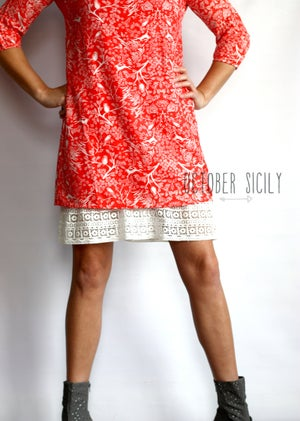 Image of Half Slip, Lace Dress Skirt Extender *STYLE 4*