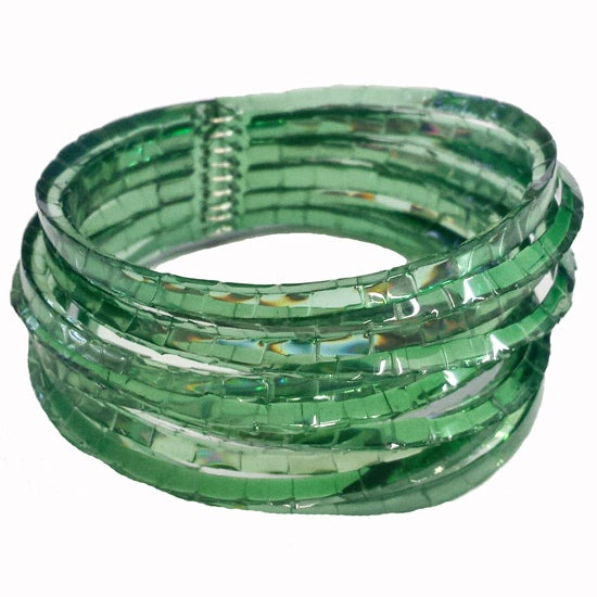 Image of waterhole cuff - shamrock green