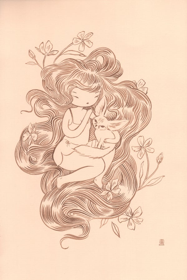 "Image of ""Foxy"" by Stasia Burrington"