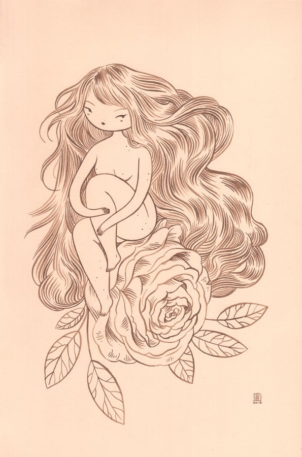 "Image of ""Sitting Pretty"" by Stasia Burrington"