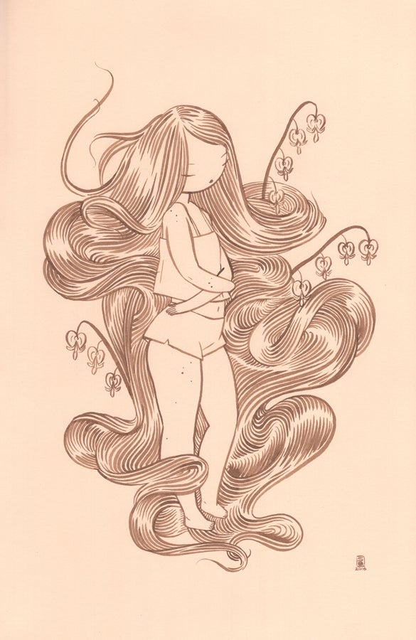 "Image of ""Bleeding Heart"" by Stasia Burrington"