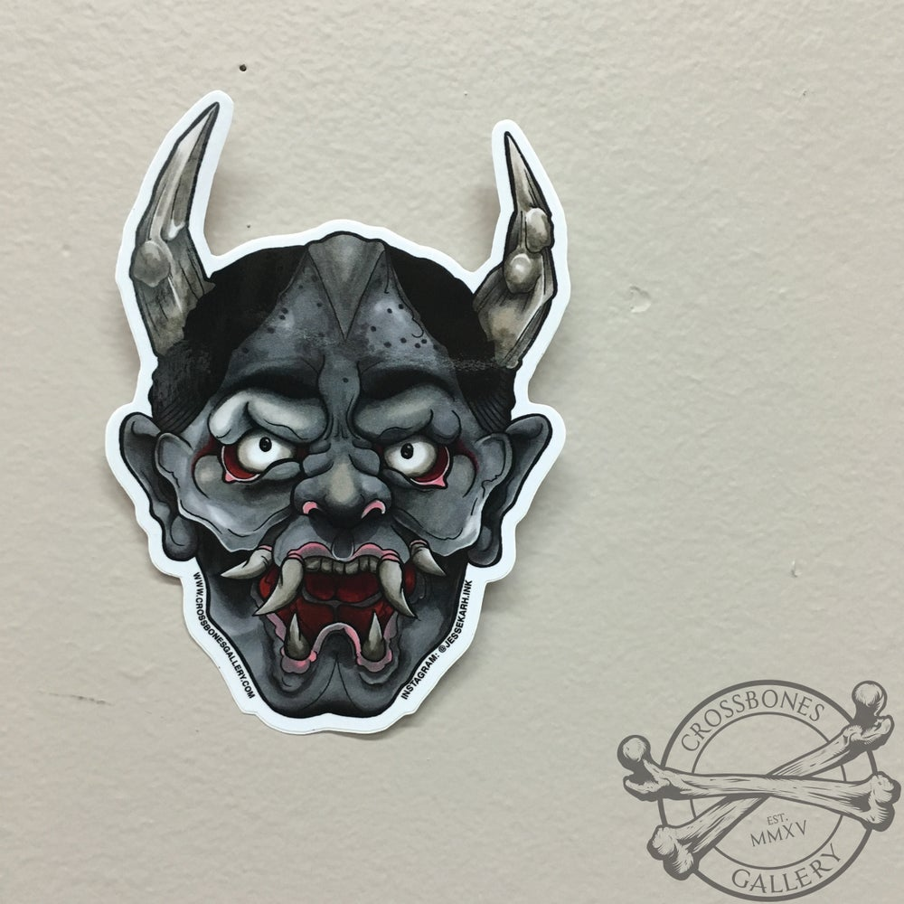 Image of Hannya Vinyl Sticker