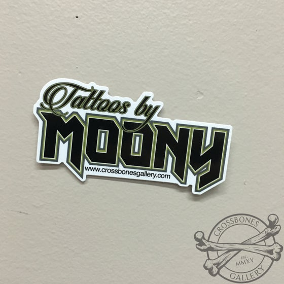Image of Tattoos by Moony Vinyl Sticker