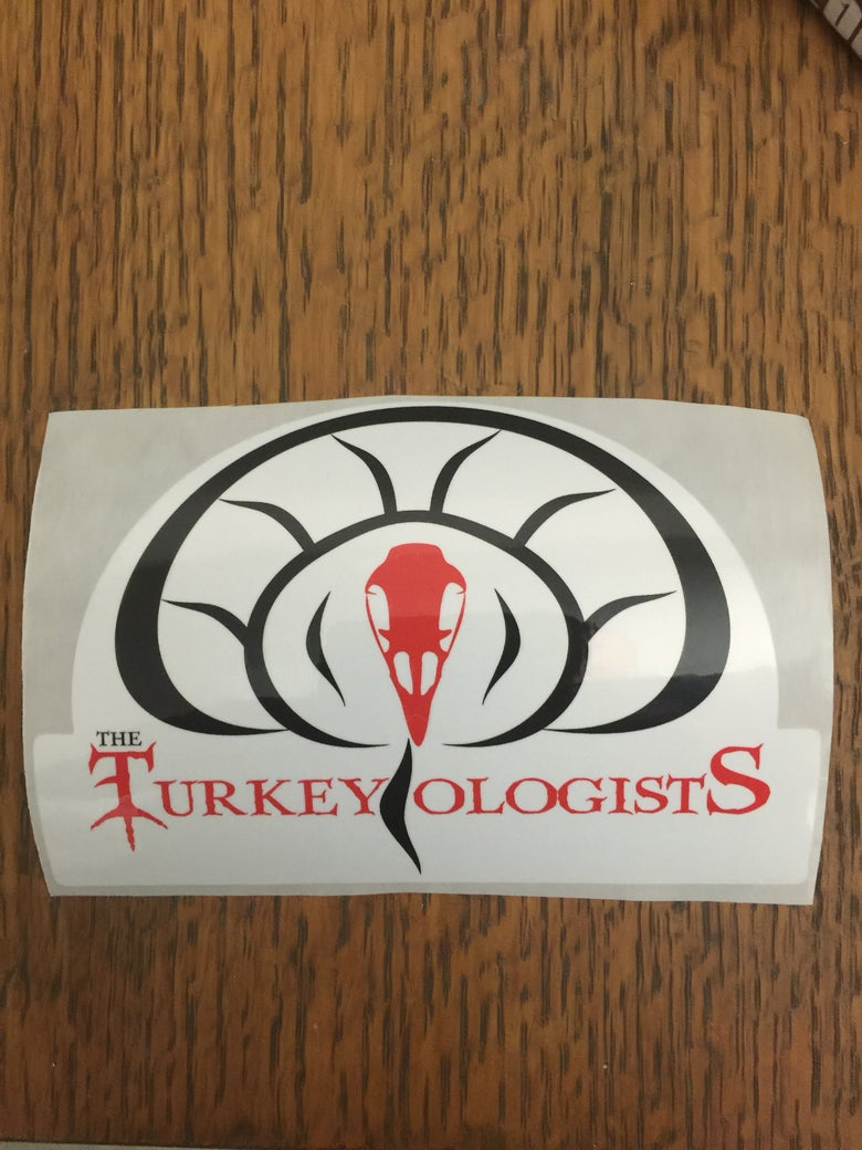 Image of Turkeyologists Window Decal