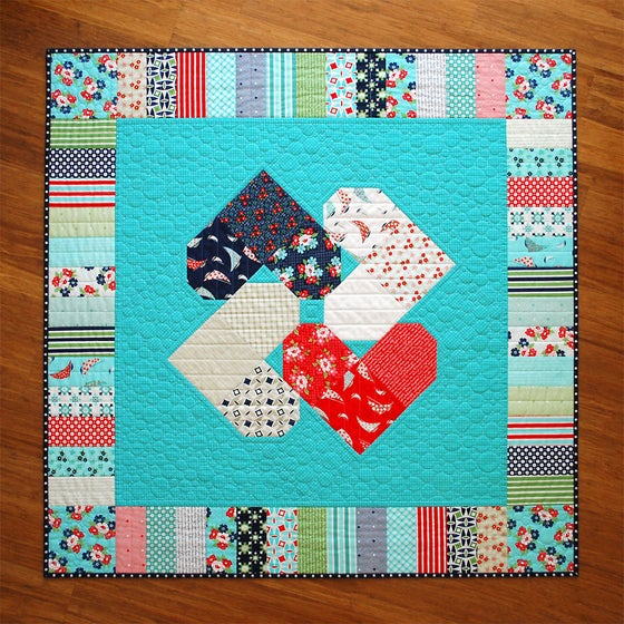 Image of Heart Spin - PDF Quilt Pattern