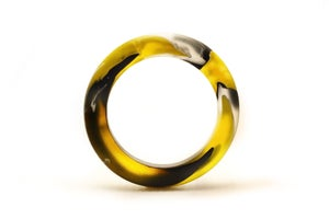 Image of Leopard Swirl Slender Bangle