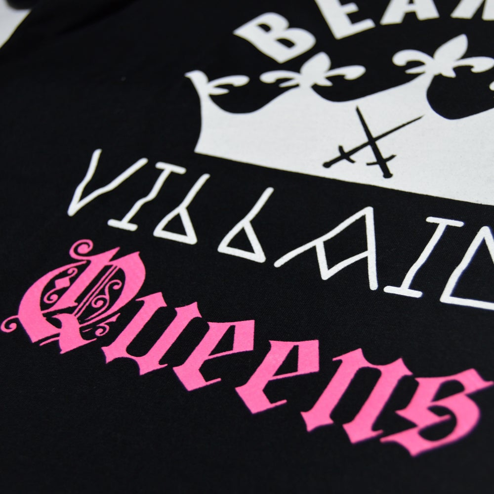 Image of BV QUEENS Official Logo Tee ( Black )
