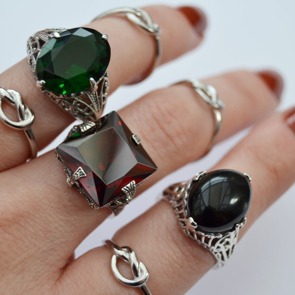 Image of Stones Collection - Poison Ivy Ring