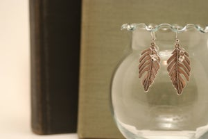 Image of MJ Bijoux~ Leaf Earrings