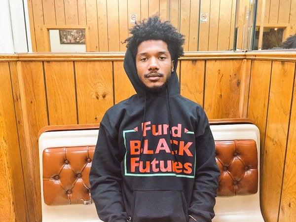 Image of Fund Black Futures Hoodie