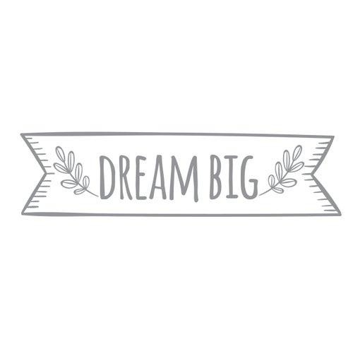 Image of Vinilo Dream Big gris