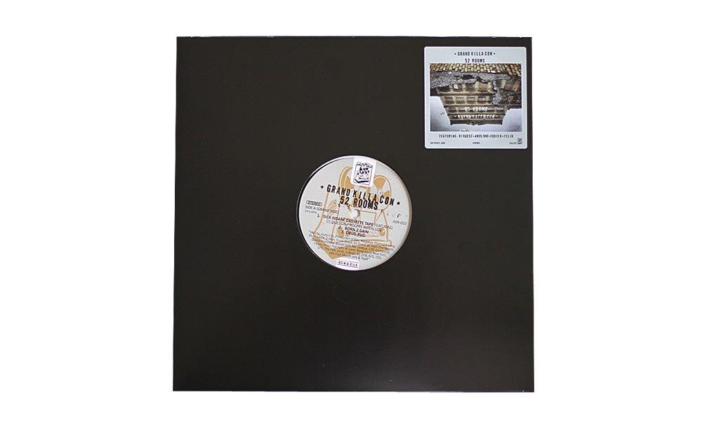 Image of Grand Killa Con - 52 Rooms EP Black Vinyl